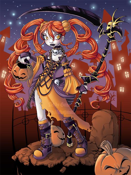 Halloween by GainaSpirit