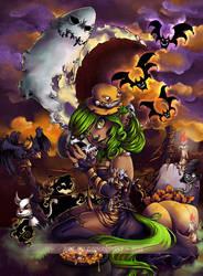 Halloween 2011 by GainaSpirit