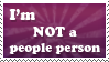 I'm not a people person by harleshinn