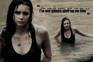Elena in Water by Meybeline
