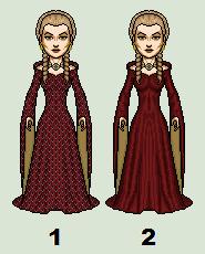 Cersei's Red Dress (season 3) by PrincessJ420