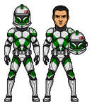 Clone Trooper Draa - 41st Elite Corps (Clone Wars)