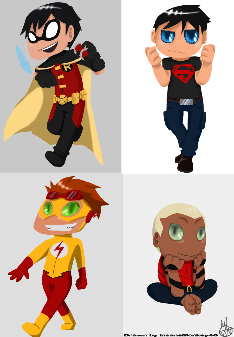 Young Justice: Chibi B...