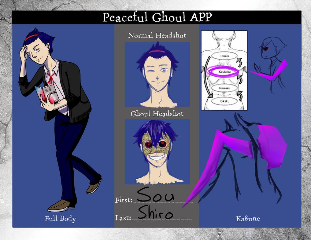 Tokyo Ghoul OC: Sou by InsaneMonkey46