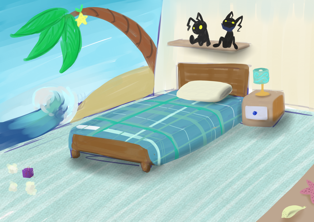 KxW: Home away from beach by InsaneMonkey46
