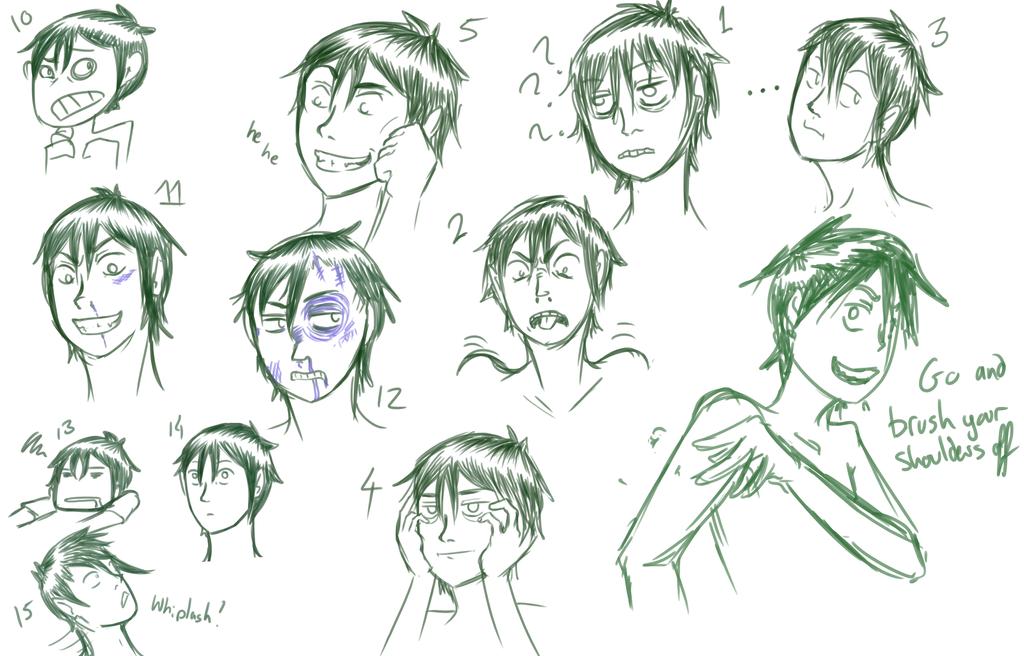 Mel expressions by InsaneMonkey46