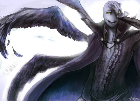 Fallen angel MAD Gaster