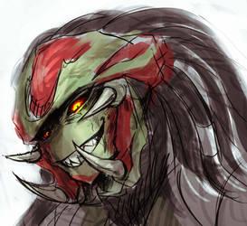 evil Black by MEGA1126