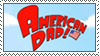American Dad stamp by Oatzy