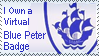 Blue Peter Stamp by Oatzy