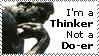 Thinker Stamp by Oatzy