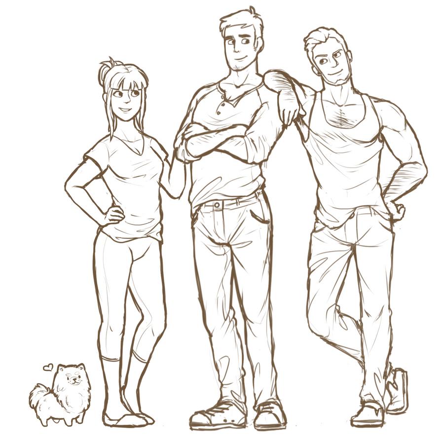 deviantart character sketches - photo #12