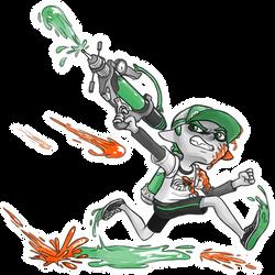 Squid Kid by TooterDoodles