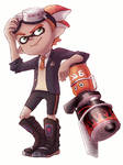 Inkling with Blaster