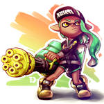 Inkling with Splatling 2