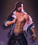 Ben Redraw (Shirtless)