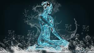 Chica agua