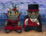 Vampire Cat Couple