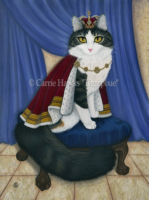 Prince Anakin The Two Legged Cat by tigerpixieart