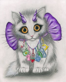 Little Purple Horns