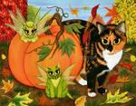 Calico's Mystical Pumpkin