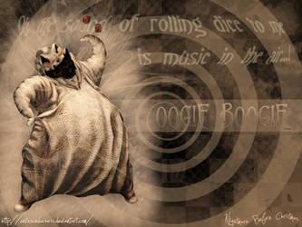 Oogie Boogie Wallpaper by UnknownDuchess