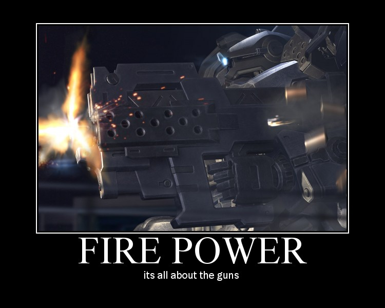 armored core fire power by Armored4core