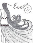 Long hair fashion illustration - Copy