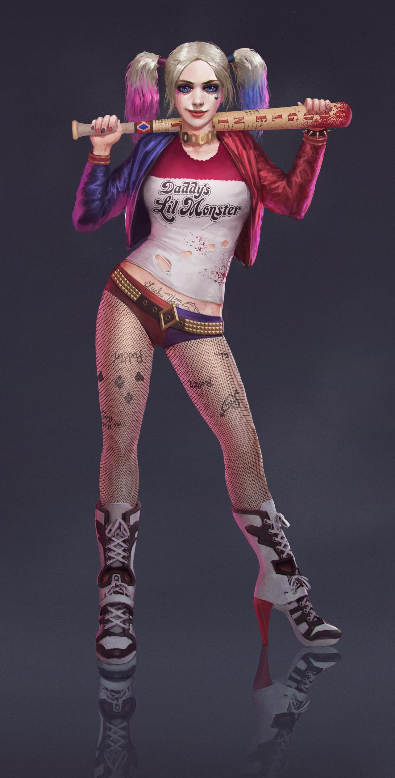 Harley Quinn by ubuchy