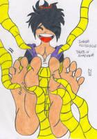 Sheena Fujibarashi Tickled