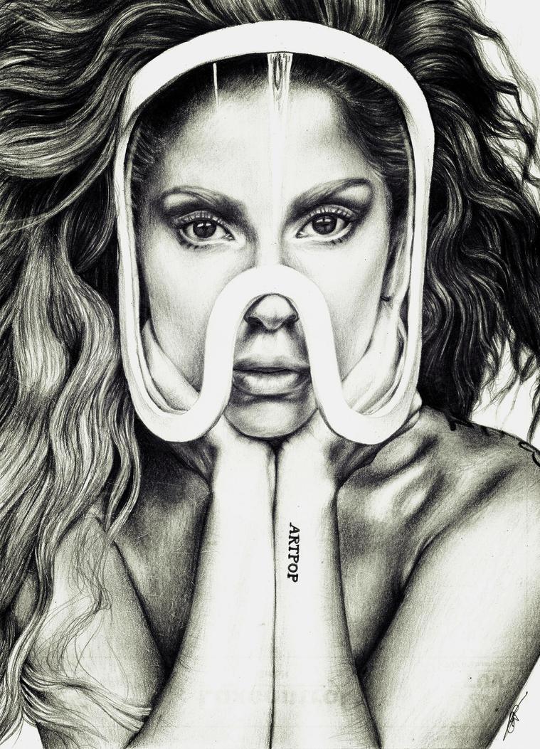 Lady Gaga - ARTPOP - Obsession by davyrey on DeviantArt