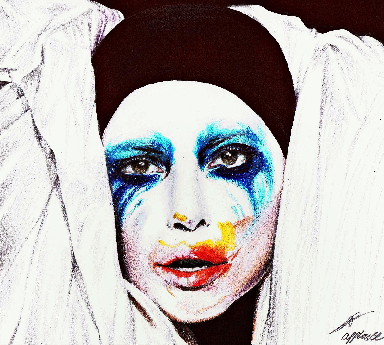 Lady Gaga - Applause - Unedited by davyrey on DeviantArt