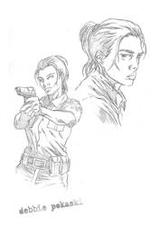 sulfur character sketches 2 by Andy-Pandy