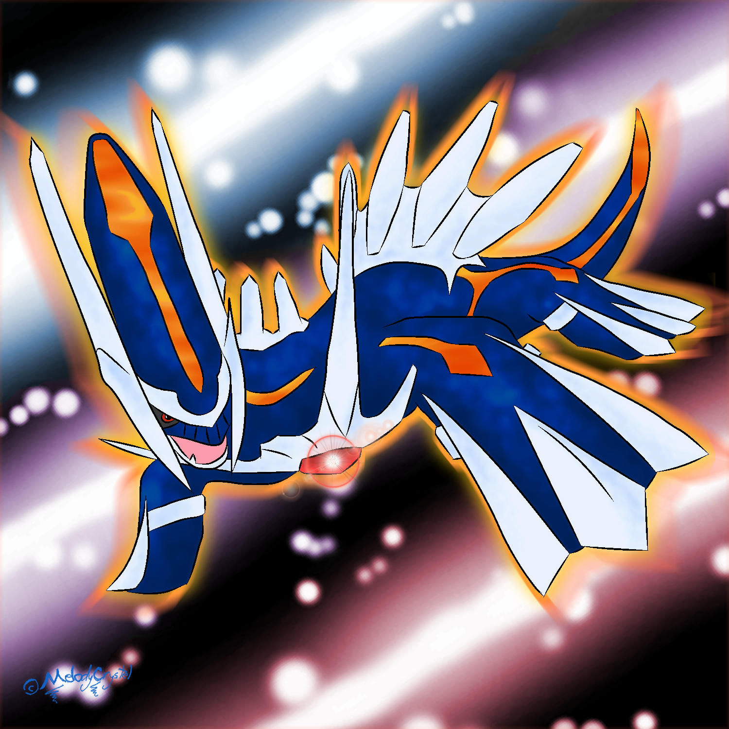Battle Primal Dialga by MelodyCrystel on DeviantArt