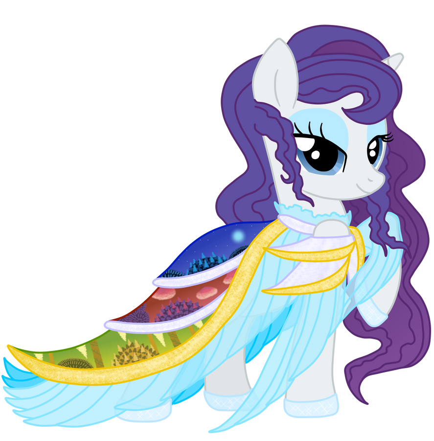 Rarity - Galloping Gala Contest by MelodyCrystel