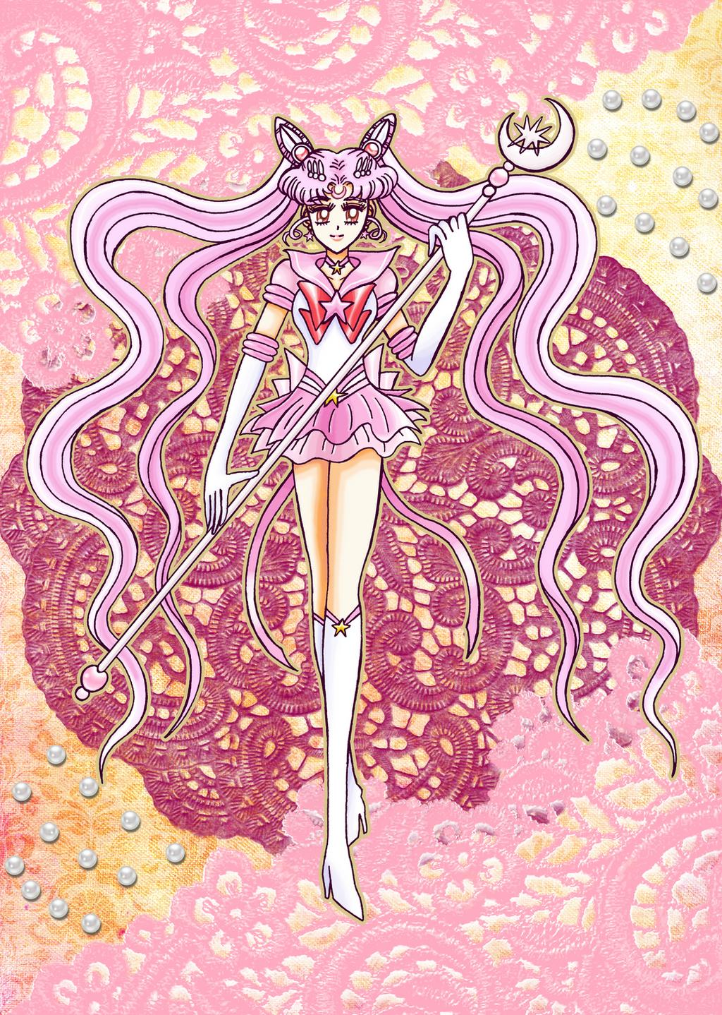 Gift for Mangaka-chan - Chibiusa, Sailor Neo Moon by MelodyCrystel ...