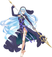 Fire Emblem If - Aqua Fanmade Dark Coloration by MelodyCrystel