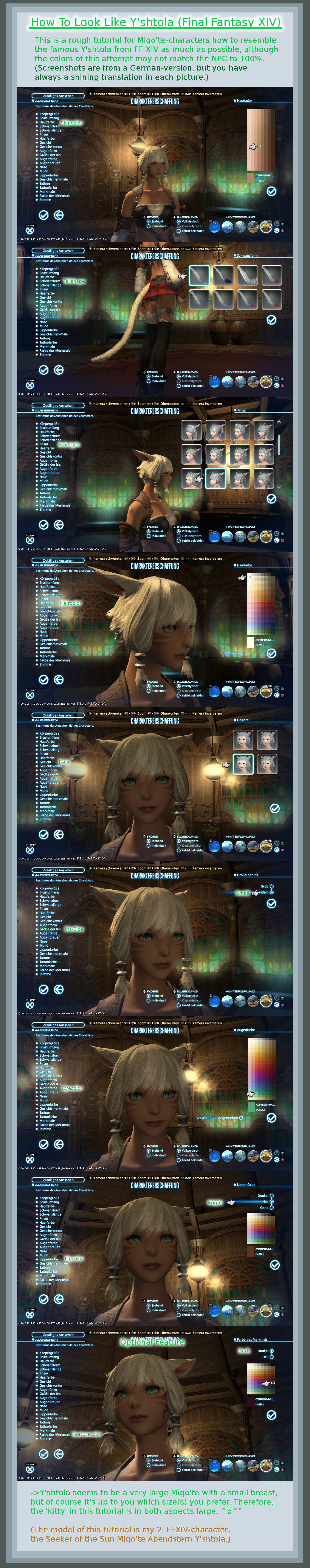 FF XIV Tutorial How to look like Y'shtola by MelodyCrystel on DeviantArt