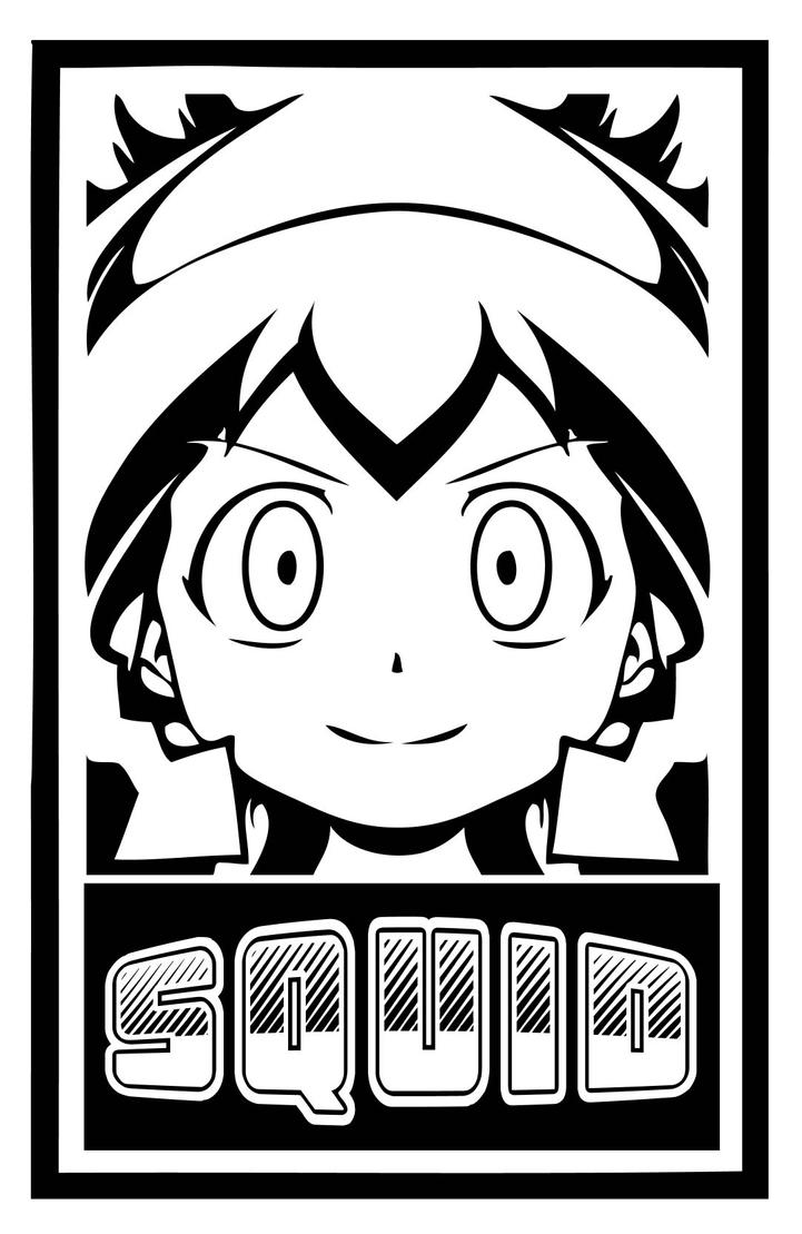 Ika Musume Sticker by oogaboogus
