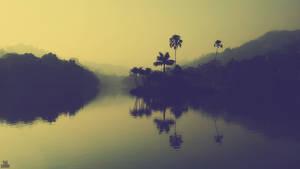 Kandy Lake Morning - Wallpaper