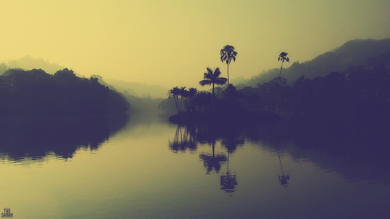 Kandy Lake Morning