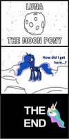 Comic: Luna the Moon Pony