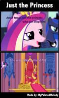 Comic: Just the Princess