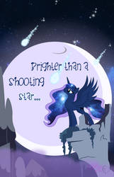 Convention Poster: Brighter Than a Shooting Star by MyPaintedMelody