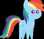 Pointy Pony: Rainbow Dash