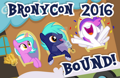 *Exclusive* BronyCon Print: BronyCon 2016!