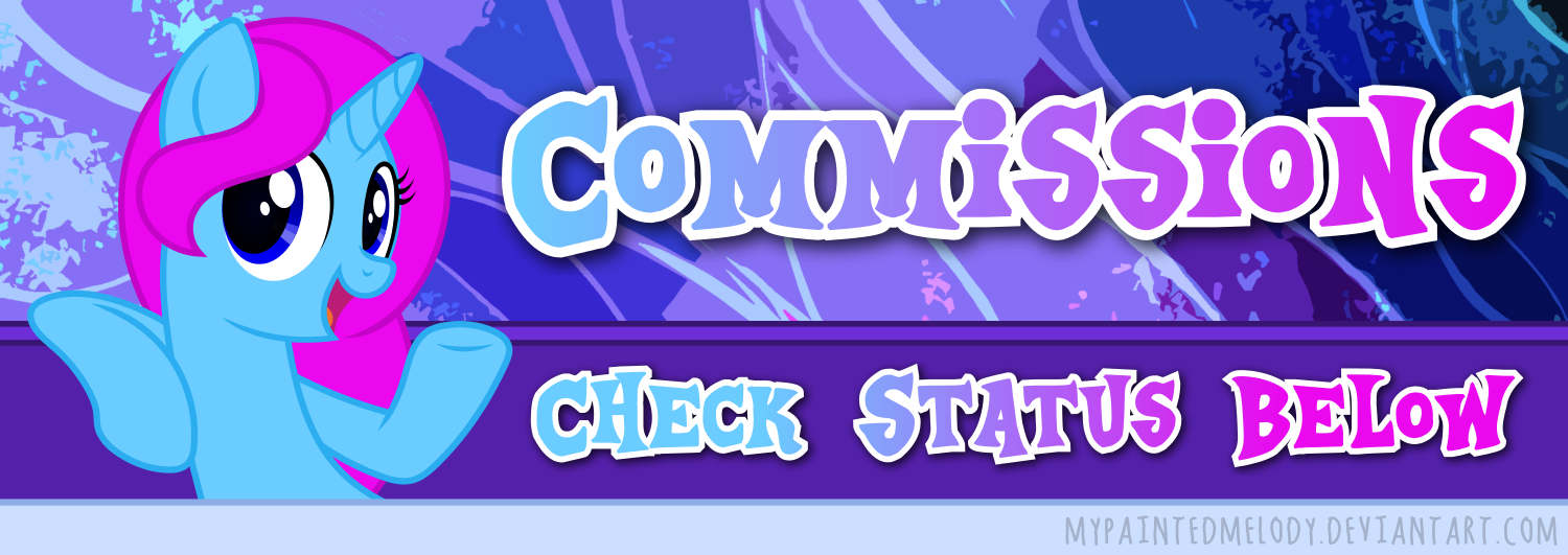 Commission Banner by MyPaintedMelody