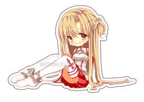 Commission Example: Asuna by WhiteKana