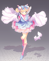 Cutesu Commission by WhiteKana