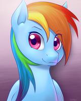 Rainbow Portrait by VividVapor